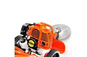 Giantz 3 in 1 Wheeled Brush Cutter String Trimmer Snipper Whipper Brush