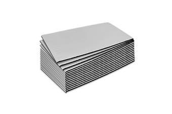 Weisshorn 3.84 m Car Sound Deadener Insulation Material w/ Application Roller Sound Proofing Material