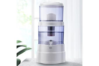 Ceramic Water Purifier 7 Stage Water Filter Dispenser Bench Top 22L Cartridge