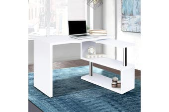 Artiss Office Computer Desk Study Corner Table Workstation Bookshelf