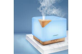 Devanti Aromatherapy Diffuser Aroma Diffuser Oils Humidifier Essential Oils