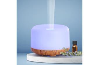 Devanti Aromatherapy Diffuser Aroma LED Light Ultrasonic Air Humidifier