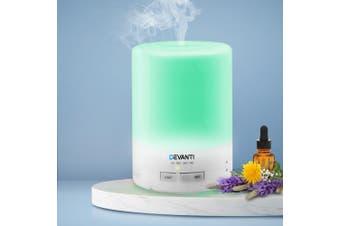 Devanti Aromatherapy Diffuser Aroma Essential Oils LED Air Humidifier 300ml