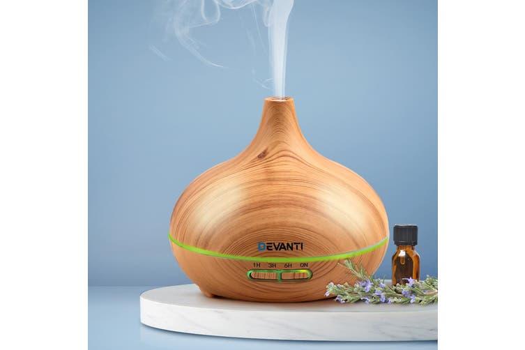 Devanti Ultrasonic Aroma Aromatherapy Diffuser Oil Electric Air Humidifier 307 L