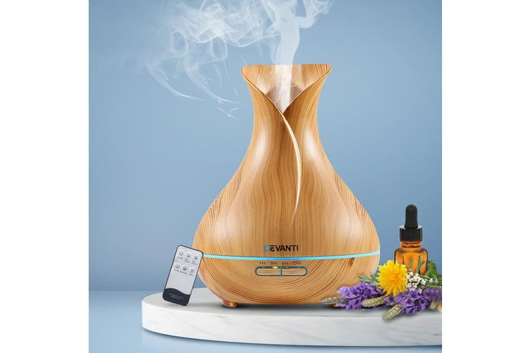 Devanti Ultrasonic Aroma Aromatherapy Diffuser Essential Oils Air Humidifier 400