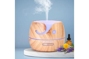 Ultrasonic Aroma Aromatherapy Diffuser LED Essential Oils  Electric Humidifier
