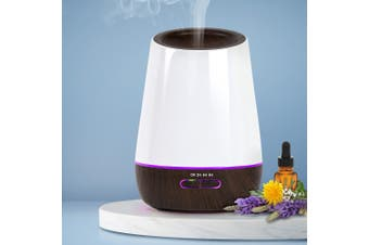 Ultrasonic Aroma Diffuser Essential Oils Aromatherapy LED Air Humidifier DW