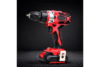 Giantz 20V Impact Cordless Hammer Drill Electric Lithium Battery Powered