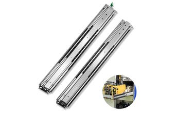 Cefito Ball Bearing Drawer Slides Heavy Duty 125KG Locking Runner 559mm 22""