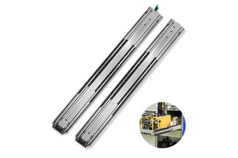 Cefito Ball Bearing Drawer Slides Heavy Duty 125KG Locking Runner 660mm 26""