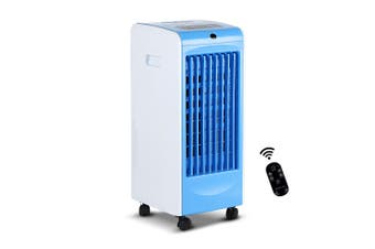 Devanti Portable Evaporative Air Cooler w/Remote Humidifier Air Conditioner Water Storage