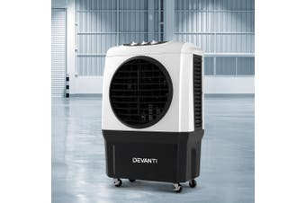 Devanti Portable Evaporative Air Cooler Conditioner Industrial Commercial Portable Water Fan Workshop