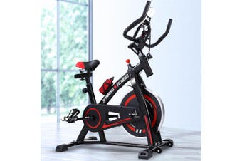 Spin Bike Exercise Flywheel Fitness Commercial Home Workout Gym Holder