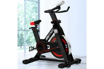 Everfit Spin Exercise Bike Flywheel Fitness Commercial Home Workout Gym