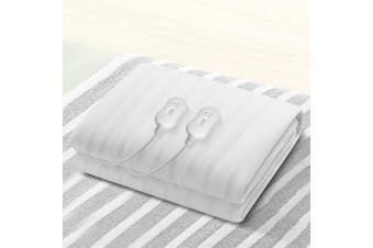 Giselle Bedding Washable Heated Electric Blanket Fully Fitted Polyester King