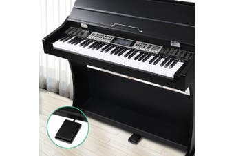 Alpha Electronic Digital Piano Keyboard 61 Key Electric Classical Music
