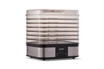 Devanti 7 Trays Food Dehydrators Fruit Beef Maker Dehydrator Stainless Steel
