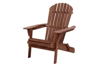 Gardeon Patio Furniture Outdoor Chairs Beach Chair Wooden Adirondack Garden