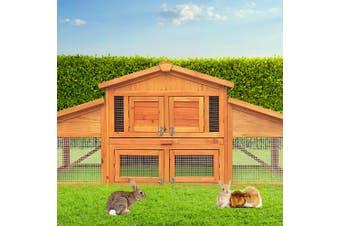 iPet Wooden Chicken Coop Extra Large XL Rabbit Hutch Hen Chook House Run