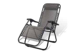 Gardeon Zero Gravity Chair Portable Camping Reclining Sun Lounge Folding Outdoor