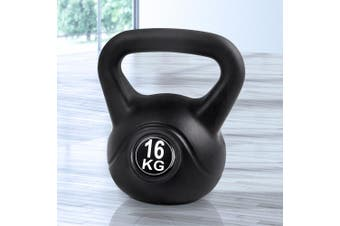 Everfit 16KG Kettlebell Kettle Bell Set Kit Weight Fitness Exercise Home Gym