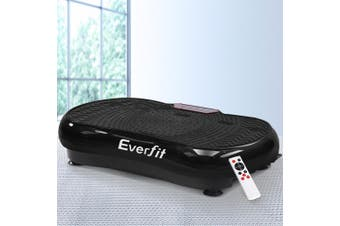 Everfit Vibration Machine Machines Platform Plate Vibrator Exercise Fit Gym