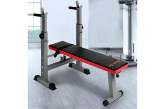 Everfit Multi-Station Weight Bench Press Fitness Weights Equipment Incline Red