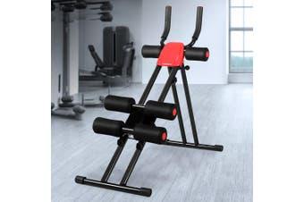Fitness Abdominal Waist Trainer Cardio Machine Weight Body Shaper Sit Up Yoga Bench