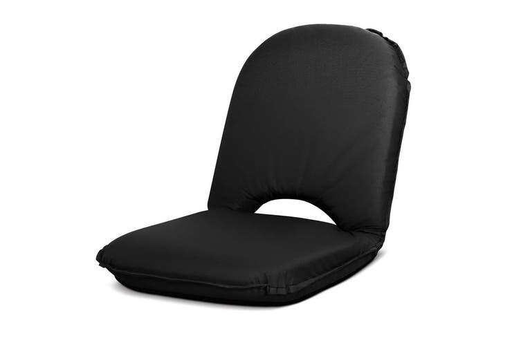 Artiss Portable Picnic Camping Beach Chair Folding Floor Recliner Outdoor Lounge Sofa