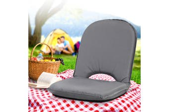 Artiss Floor Picnic Camping Portable Recliner Beach Chair Folding Outdoor