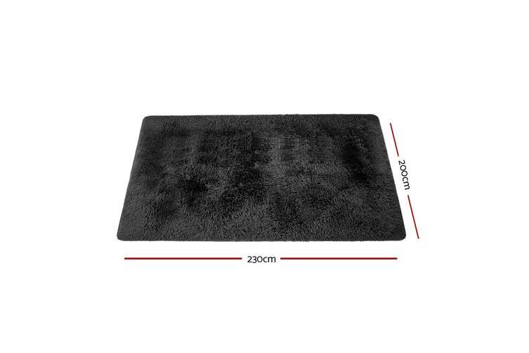 Artiss Ultra Soft Shaggy Rug Large 200x230cm Floor Carpet Anti-slip Area Rugs For Living Room Bedroom