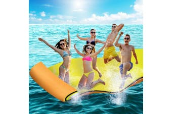 Weisshorn Floating Foldable Mat Water Park Swimming Pool Island Platform Aqua Pad Summer Toys