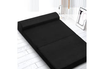 Giselle Folding Foam Mattress Portable Double Sofa Bed Mat Lounger