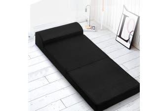 Giselle Bedding Folding Foam Mattress Portable Single Sofa Bed Mat Lounger