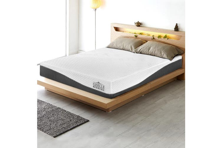 Giselle Bedding Queen Size Memory Foam Mattress Cool Gel Non Spring 21cm