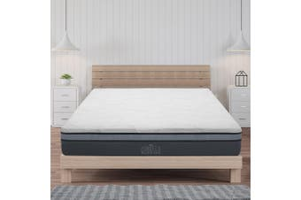Giselle King Single Memory Foam Mattress Size Bed Cool Gel Non Spring 25cm