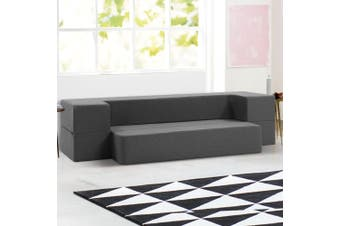 Giselle Bedding Folding Foam Mattress Portable Sofa Bed Lounger Chair Ottoman