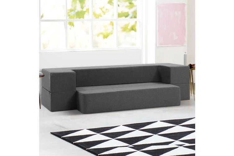 Giselle Bedding Folding Foam Mattress Portable Sofa Bed Lounger Chair Ottoman