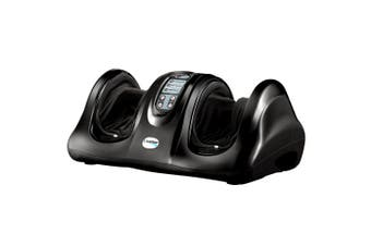 Livemor Foot Massager Shiatsu Ankle Kneading Rolling Massagers Machine Black