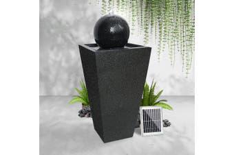 Gardeon Solar Water Fountain Pump Ball Indoor Outdoor Fountains LED Light Rechargable Battery Bird Bath