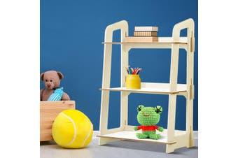 Artiss Kids Bookcase Childrens Bookshelf Storage Shelves Ladder Shelf Display WH