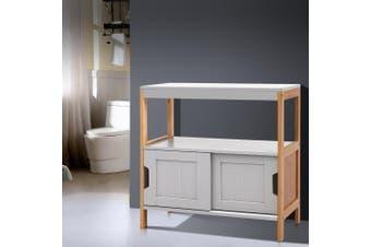 Artiss Bathroom Cabinet Furniture SIdeboard Toilet Storage Laundry Cupboard Shelf