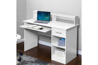 Artiss Office Computer Desk Study Table Storage PC Laptop Student Home Tray