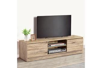 Artiss TV Cabinet Entertainment Unit Stand Lowline Storage Wooden160CM