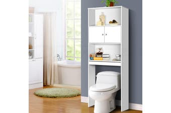 Artiss Bathroom Storage Cabinet Organiser Laundry Cupboard Toilet Shelf
