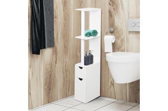 Artiss Freestanding Bathroom Cabinet Toilet Storage Shelf Cupboard Laundry