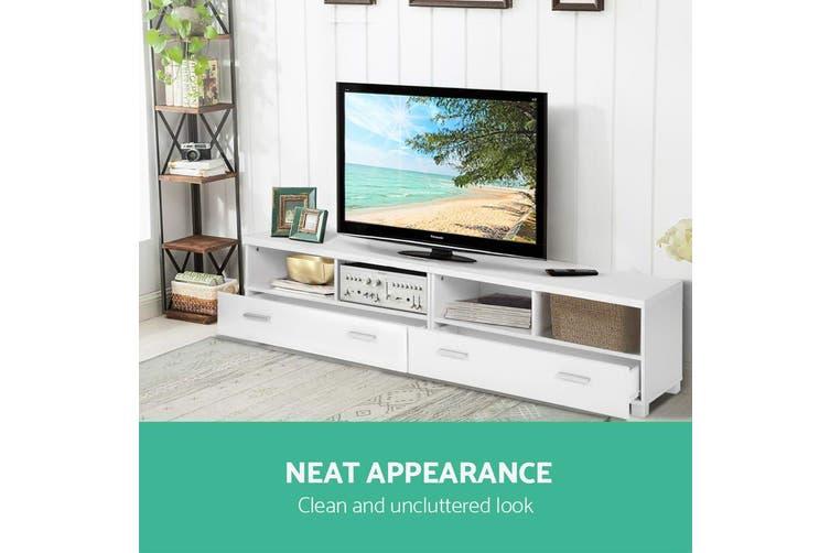 Artiss TV Cabinet Entertainment Unit Stand Storage Drawers 180cm Lowline