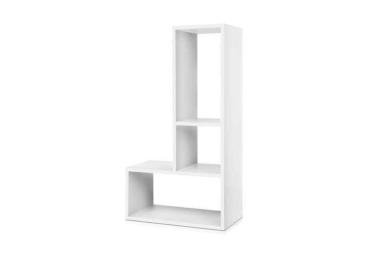 Artiss DIY Display Cube Shelf Sidetable Cabinet Storage Ladder TV Unit Bookcase