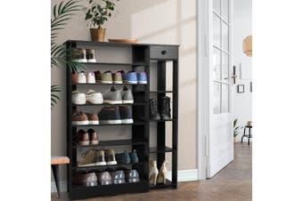 Artiss 32 Pairs Wooden Shoe Rack Cabinet StorageOrganisers Scandinavian 11-Tier