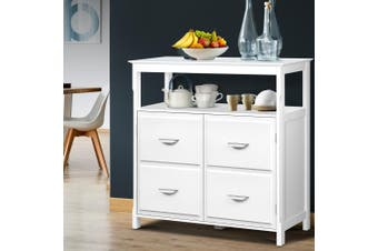 Artiss Kitchen Buffet Sideboard Cabinet Wooden Dressers Storage Cupboard